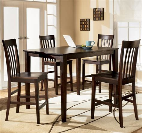 how to set dining room table d258 223 hyland rectangular dining room counter