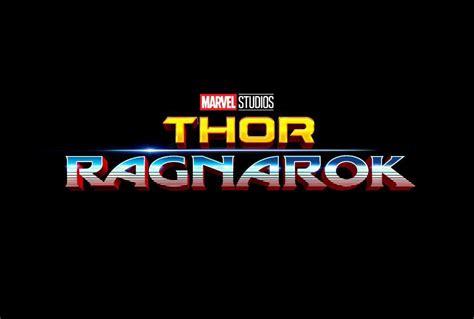 Thor Ragnarok Gets A New Logo Sdcc Major Spoilers