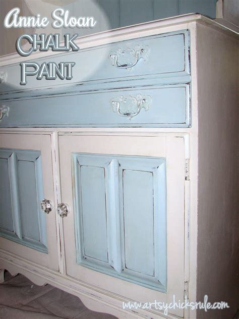 chalk paint pictures dated 70 s hutch transformed into a coastal shabby