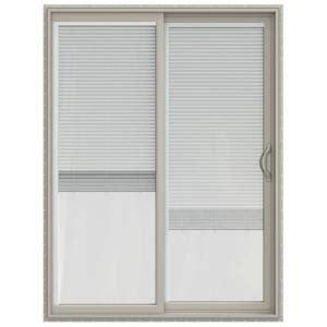 home depot sliding glass patio doors jeld wen v 2500 series vinyl sliding patio door with