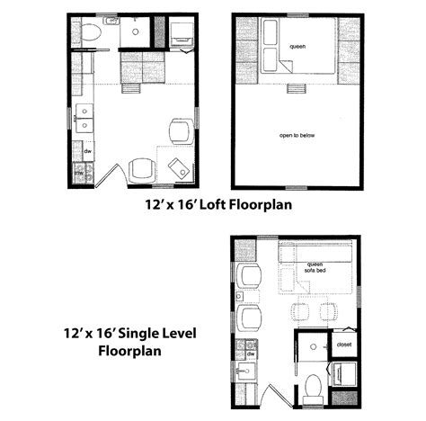 16 x 16 cabin floor plans cabin plans 12 x 16 studio design gallery best design
