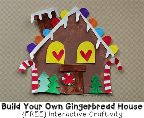 gingerbread house craft for build your own gingerbread house craft for