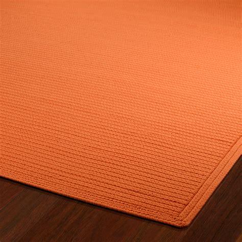 8ft rugs shop orange outdoor rug 8ft x 11ft kaleen rugs