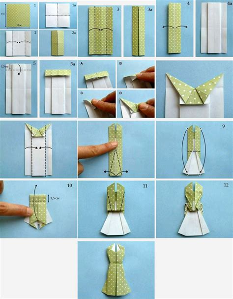 easy origami dress hijabholicanism obviously origami dress