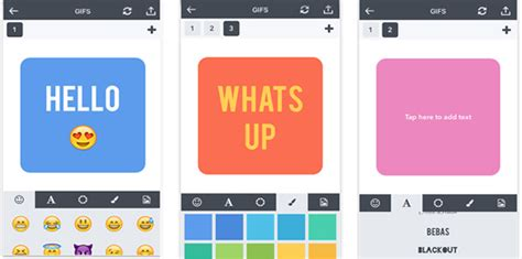 make your own card app gifx is a new app that lets you make your own gifs