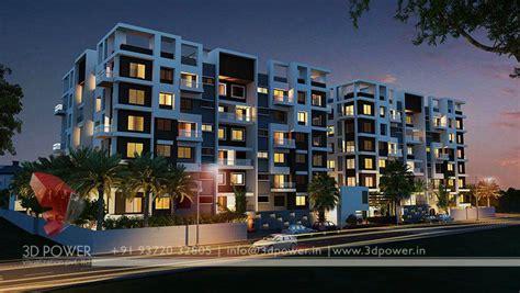 Multi Family Home Floor Plans apartment design rendering 3d contemporary modern