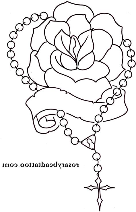 rosary beads tattoo designs praying hands with rosary