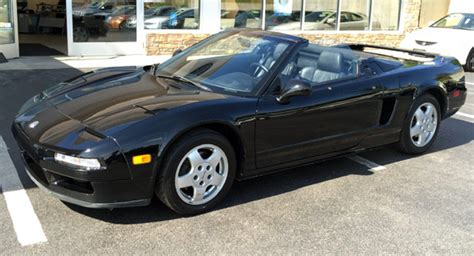Acura Nsx Convertible by Someone Chopped An Acura Nsx Into A Convertible And Is Now