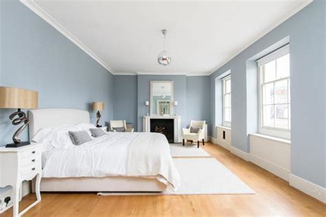 light blue paint bedroom matching interior design colors floor finish ceiling and