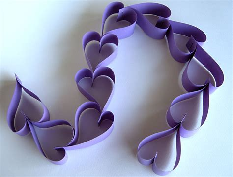 paper chain crafts chain tutorial more betz white