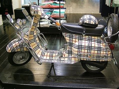 Vespa Modif Harley by Modif Vespa Cat Manis Kalem