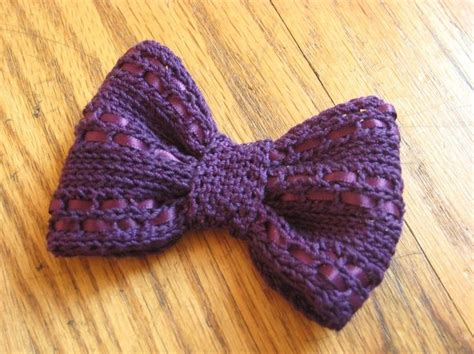 how to knit a bow eyelet knit bow knits diy and crafts and so