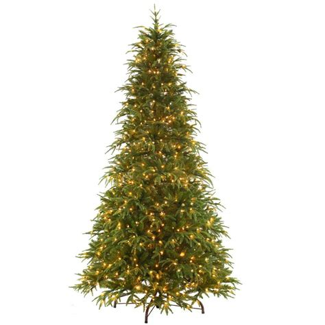 9 ft slim tree home depot martha stewart living 9 ft andes fir set slim