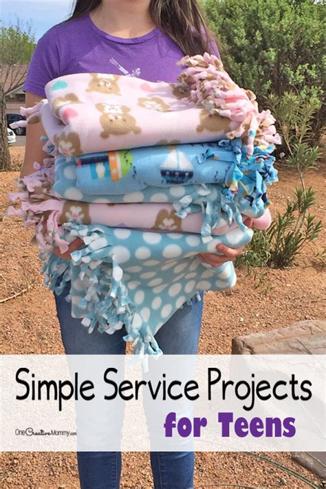 volunteer craft projects simple service projects for to try today