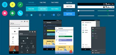 android app design 10 free high quality psd resources for ui designers