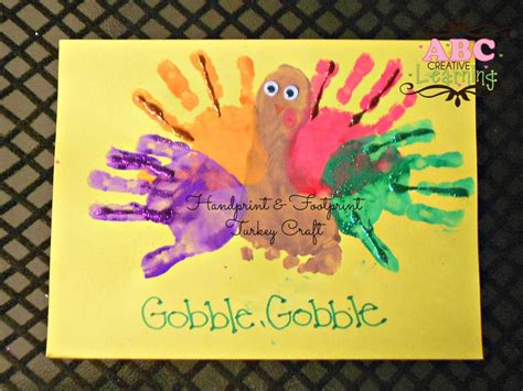 footprint crafts for handprint and footprint arts and crafts