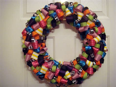 Kandy Blue Crafts Ribbon Wreaths