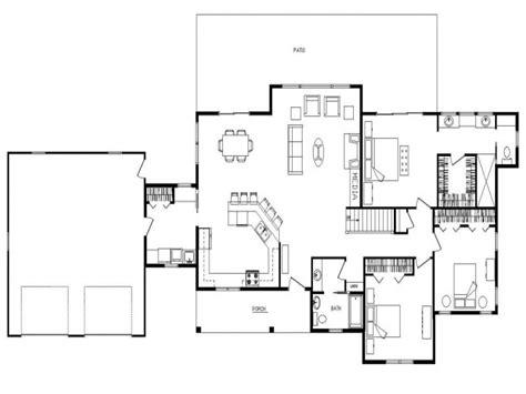 ranch house floor plans open plan ranch open floor plan design open concept ranch floor plans ranch log home floor plans