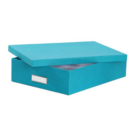 bo 238 te de rangement a4 en turquoise rangement bureau