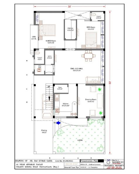house map design 30 x 30 30 x 60 house plans 187 modern architecture center indian