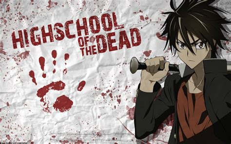 highschool of the dead high school of the dead highschool of the dead wallpaper