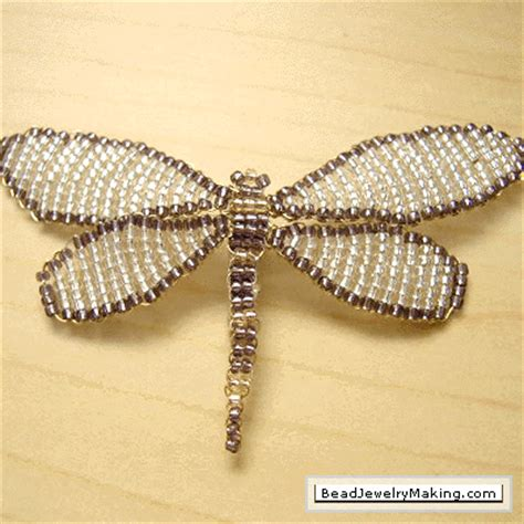 beading gem how to make dragonflies for jewelry tutorials the