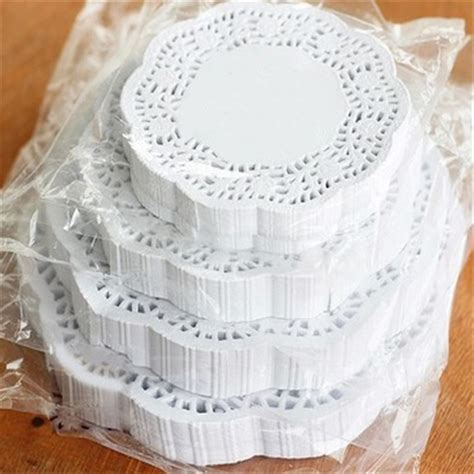 craft paper placemats lace paper doilies cake placemat craft vintage