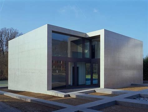 minimalist homes contemporary minimalist house in concrete cube frame