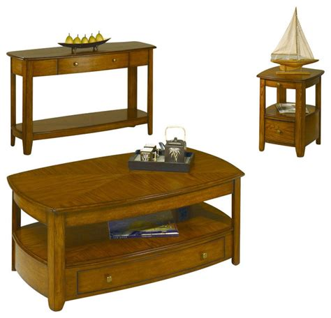 traditional coffee table sets hammary primo 3 coffee table set traditional