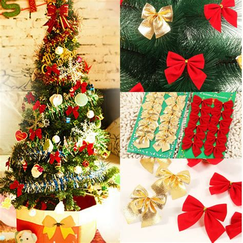 tree bows decorations 12x bow tree decoration hanging ornament