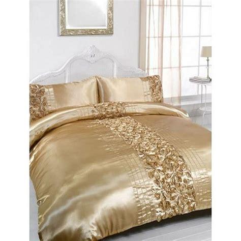 gold bedding sets king gold embellished king size duvet pillowcase bedding set