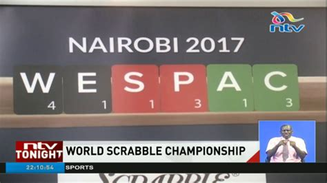 world scrabble chionships 250 players from 40 countries in kenya for the world
