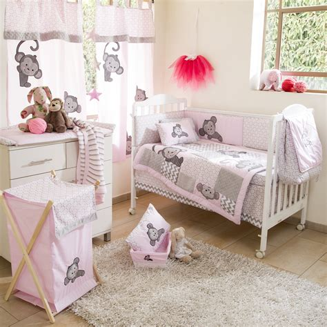 monkey crib bedding baby bedding sets pink monkey crib bedding collection baby