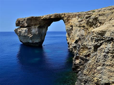 azure window collapse malta s azure window rock formation collapses into the sea