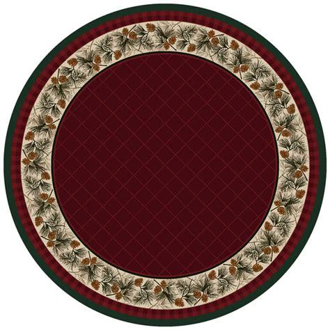 evergreen burgundy rug 8 ft