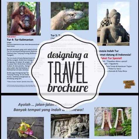 designing a travel brochure