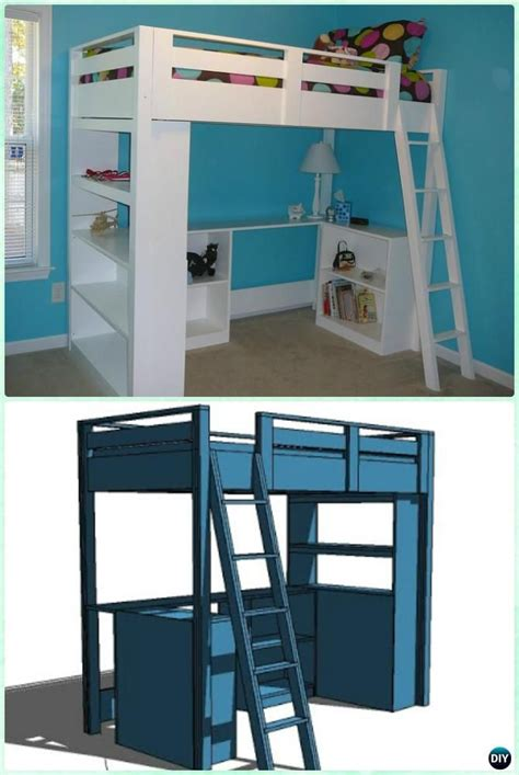 lofts and bunk beds best 25 loft bunk beds ideas on bedroom