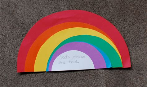 rainbow craft for learning 4 sunday school noah s ark