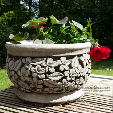 flower garden ornaments flower pot garden ornament planter onefold uk