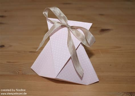 origami up box anleitung tutorial origami tasche stin up box goodie