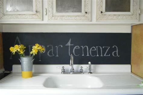 chalkboard paint kitchen chalk it up decorating your small space