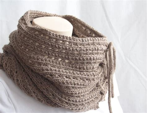 knit cowl pattern knitting pattern cowl mokaccino cowl by gascon