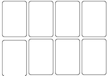 how to make blank cards blank card template by persha teachers pay