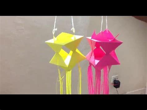 how to make origami lanterns wesak lantern origami