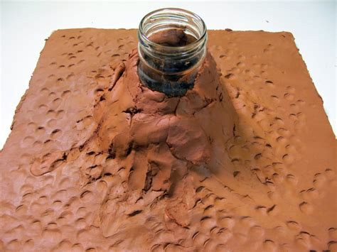 how to make a origami volcano how to make a clay volcano hobbycraft