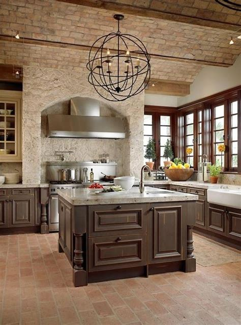 wall ideas for kitchens modern furniture traditional kitchen with brick walls