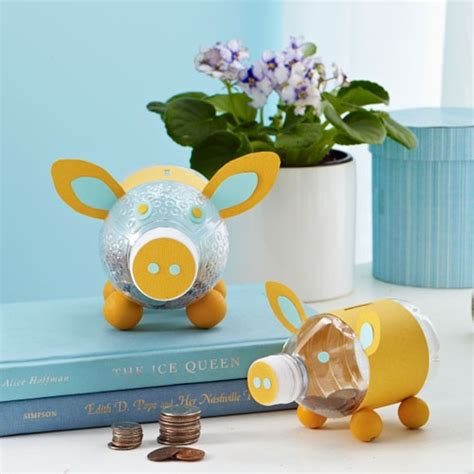 water bottle crafts projects piggy bank water bottle water bottle crafts