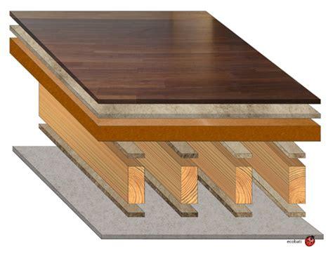 sch 233 ma plancher isol 233 acoustiquement ecobati