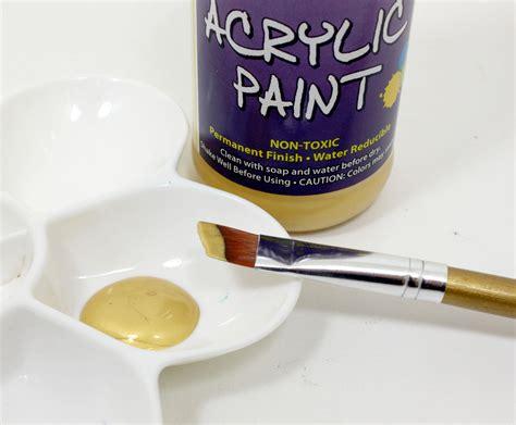 acrylic painting gold sargent 25 2381 8 ounce metallic acrylic
