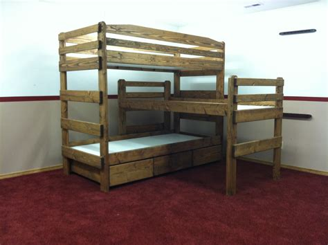 deer run bunk bed tri bunk bed lea industries deer run bunk bed my space